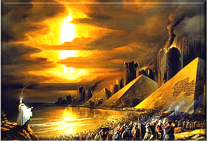 Pillar of Fire Exodus Egypt