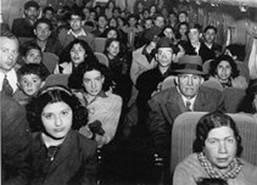 Iraqi Jews flee in 1950