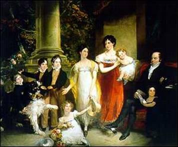 Nathan Mayer Rothschild Family Portrait