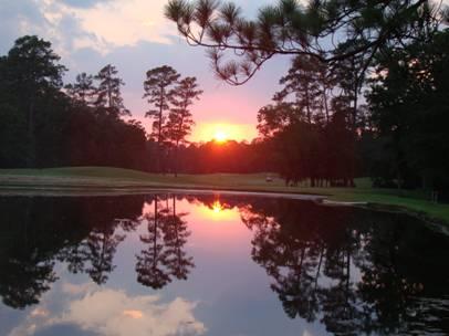 Sunset at Wilding Ponds 2