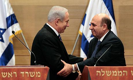 Netanyahu Mofaz