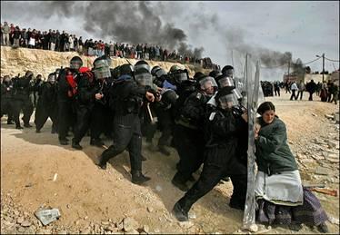 Expulsion of Jews Amona, Shomron