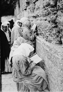 Jewish women Wailing Wall 1900