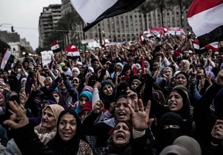 Female Egyptian Supporters of President Mohammed Morsi