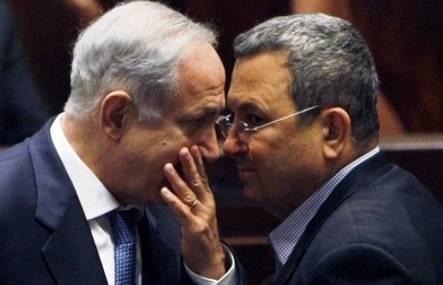Netanyahu Barak