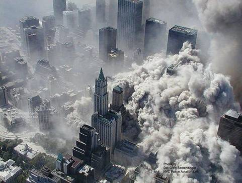 Collapse of the New York Trade Center