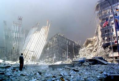 Rubble of the Twin Towers