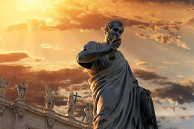 St. Peter and the Keys to Rome