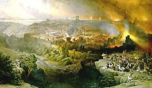 Destruction of Jerusalem and G-d's Holy Temple