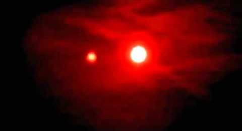 Orb of our Sun and Dwarf Twin Star, Nibiru