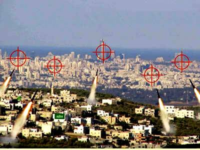 Islamic Missiles Directly Target Tel A