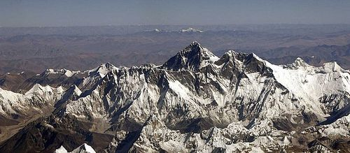 Glaciers in the Himalayans