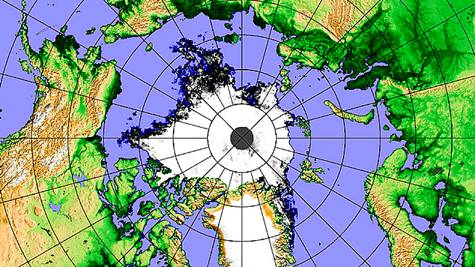 Record Meltdown of Ice in the Arctic Ocean