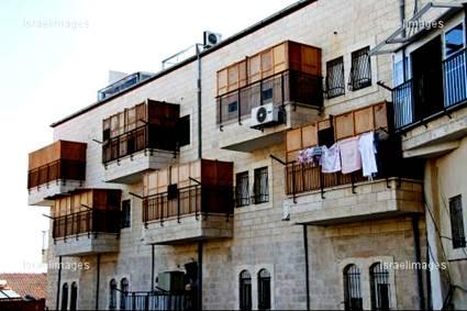 Succahs in Jerusalem