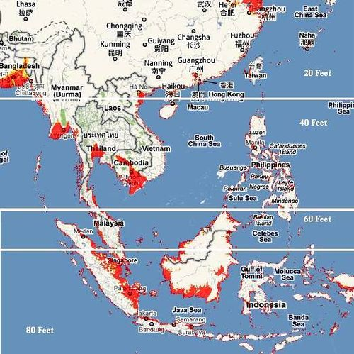 Plate Subduction in Malaysia and Philippines
