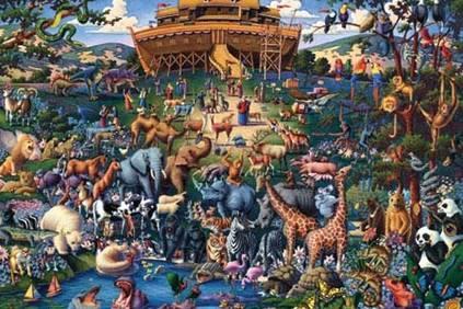 Ark Noah and Great Flood