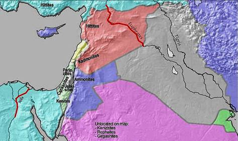 Boundaries of the Land of Israel