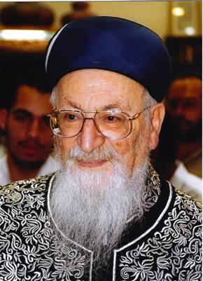 Rabbi Mordecai Eliyahu