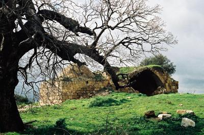 Ancient Hebrew walled city of Beit El (Bethel)