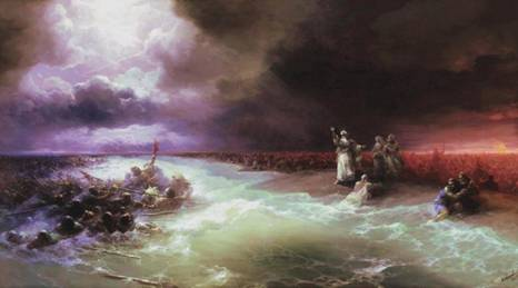 Passage of the Jews through the Red Sea