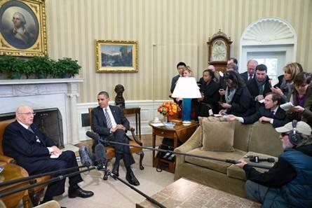 Barack Obama & President Giorgio Napolitano