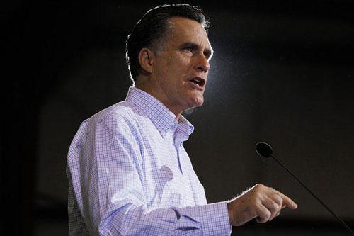 Former Governor Mitt Romney1