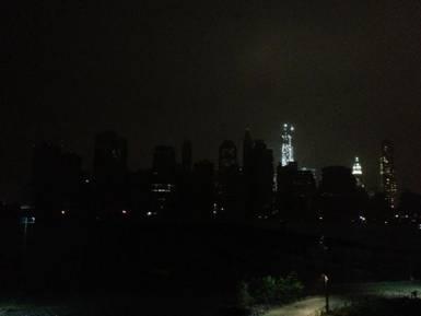 Hurricane Sandy New York Blackout