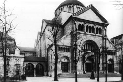 Fasanenstrasse Synagogue Berlin