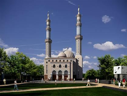 Essalam mosque in Rotterdam