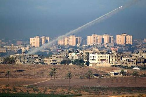Rocket attacks from Gaza City