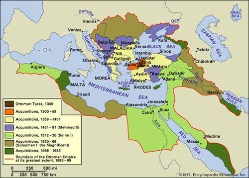 Ottoman Empire at its Peak