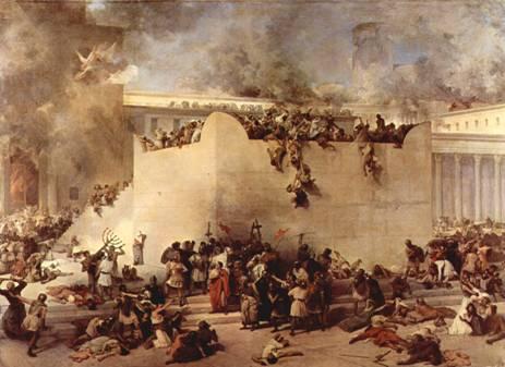 Rome's (Edom's) destruction of Jerusalem and Temple Herod