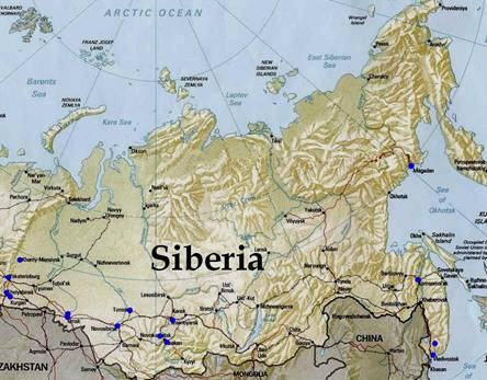 Siberia New Home of the North Pole