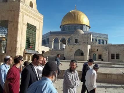 Feiglin Minyan Prayer Temple Mount1