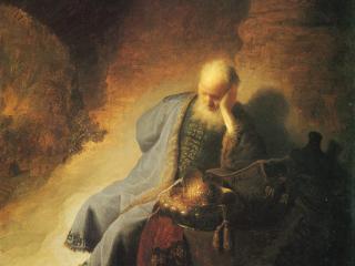 Despair of the Prophet Jeremiah