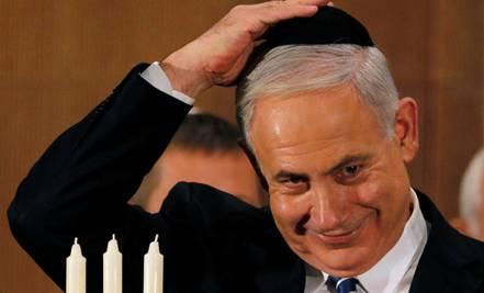 Benyamin Netanyahu at Hanukkah