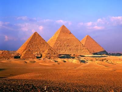 Giza Pyramids near Cairo Egypt