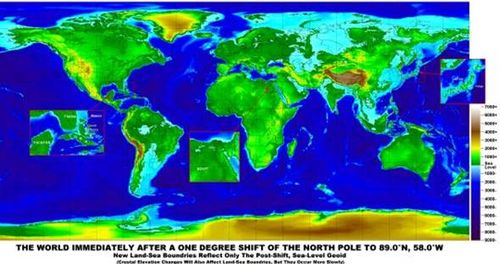 Earth Changes after a North Pole Shift