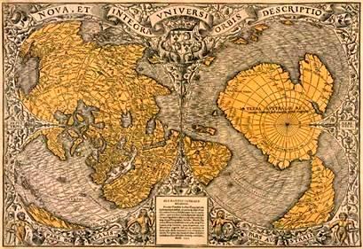 Oronteus Finaeus Map of 1513