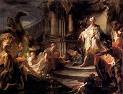 Joseph drew nearer to his brothers