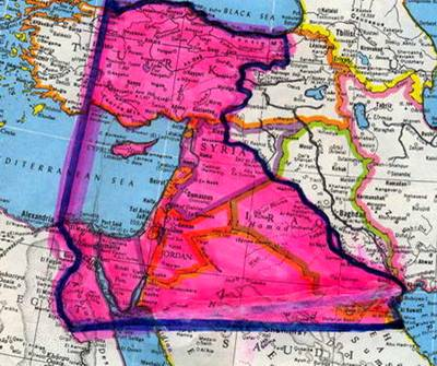 Borders of Greater Israel