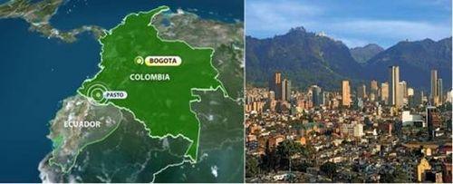 Earthquake Columbia