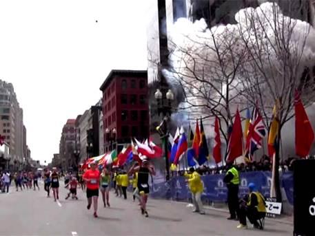 First Boston Marathon Explosion Wahhabist Terrorism with Americans