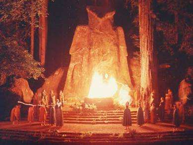 Bohemian Grove in the Redwoods of California