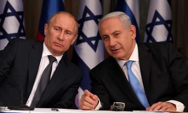 Vladimir Putin host Benyamin Netanyahu at Sochi