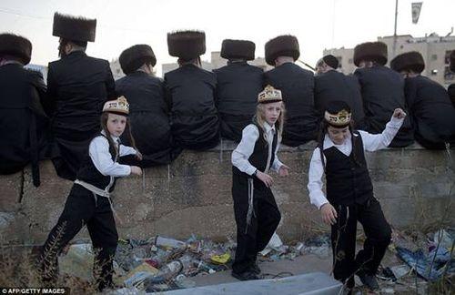Hasidic Polish Belz Dynastic Wedding070