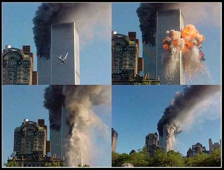 9-11 Attack on the Twin Towers in New York