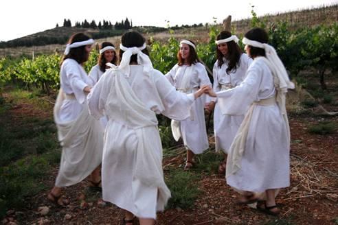 2012 Tu B'Av Festival of Dancing Celebration at Shiloh