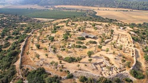 Royal Compound discovered at Khirbet Qeiyafa