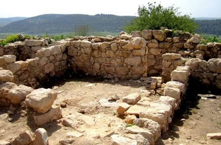 Palace Walls of Kings Saul and David